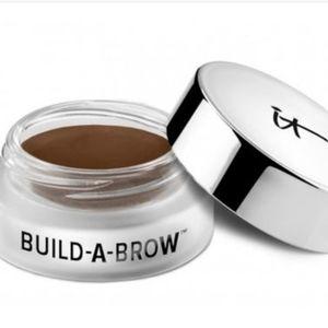 It Cosmetics build a brow cream dark brown